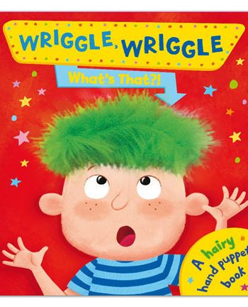 Wriggle, Wriggle What's That? Hand Puppet Book