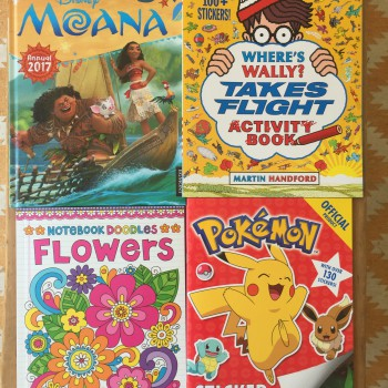 Top 4 Activity Books